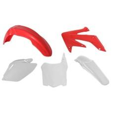 PLASTIC KIT 08-09 CRF250 -RED-WHITE