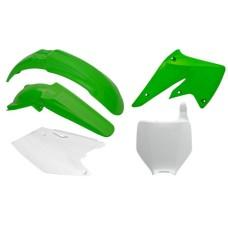 PLASTIC KIT/5 04-05 KXF250 WE