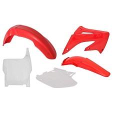 PLASTIC KIT CRF 150 R RED-WHITE