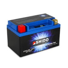 SHIDO Lightweight Lithium Ion Battery (Replaces YTX12-BS