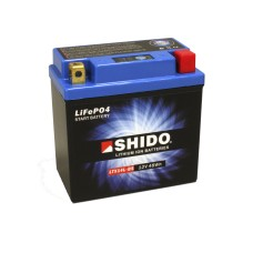 SHIDO Lightweight Lithium Ion Battery (Replaces YTX14L-BS