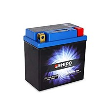 SHIDO Lightweight High Output Lithium Ion Battery (4 Terminals) (Replaces YTX14AH-BS)