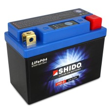 SHIDO Lightweight Lithium Ion Battery (Replaces YB5L-B)