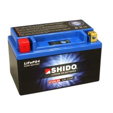 SHIDO Lightweight Lithium Ion Battery (Replaces YT12A-BS