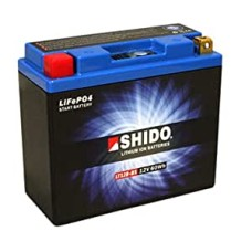SHIDO Lightweight Lithium Ion Battery (Replaces YT12B-BS