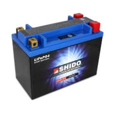 SHIDO Lightweight Lithium Ion Battery (4 Terminals) (Replaces YTX20L-BS)