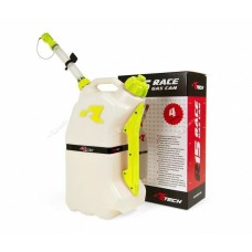 RTECH R15 FUEL CAN 15LTR. WHITE/YELLOW